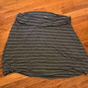 Soft, flowing Merona striped skirt - XXL